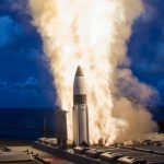 160525-O-AO981-002 HAWAII (May 25, 2016) The Missile Defense Agency and U.S. Navy sailors aboard USS Hopper (DDG 70) successfully conducted two developmental flight tests of the Standard Missile-3 (SM-3) Block IB Threat Upgrade guided missile on May 25 and 26 off the west coast of Hawaii. The flight tests, designated Controlled Test Vehicle (CTV)-01a and CTV-02, demonstrated the successful performance of design modifications to the SM-3 third-stage rocket motor (TSRM) nozzle. The results of these flight tests will support a future SM-3 Block IB production authorization request. This imagery is from the first developmental test conducted on May 25, 2016, designated as Controlled Test Vehicle (CTV)-01a.