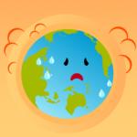今年も暑い・・・でも実は地球温暖化は緩やか。対策の効果?気温と海水温の関係