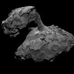 アヒル型?チュリュモフ・ゲラシメンコ彗星に着陸機フィラエが探査機ロゼッタから投下される