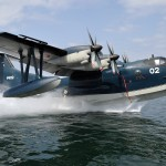 自衛隊の救難飛行艇US-2の実力は?(前編):太平洋戦争の二式飛行艇から続く、世界最高の技術